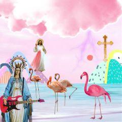 freetoedit collage maria jesus god