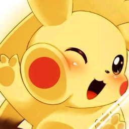 anime pikachu pikachukawaii pikapika pokemon freetoedit