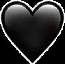 чёрный сердце сердечко сердечки лав