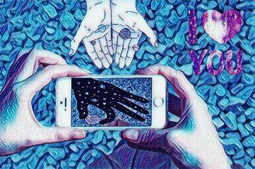 remixit galaxy hands phone photo freetoedit