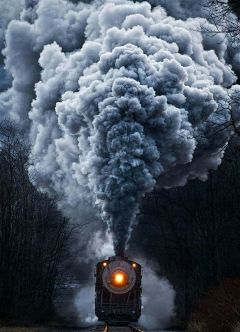 freetoedit steam steamtrain outdoor night