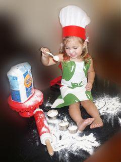 freetoedit cute love toddler baker