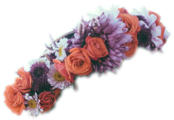flower crown flowercrown rose headpiece