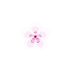 pink flower cute freetoedit