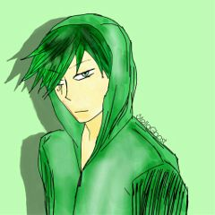 sogghynjodonati demon greenhair drawing boy freetoedit