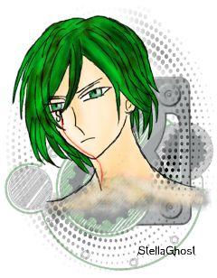 sogghynjodonati demon greenhair drawing boy freetoedit