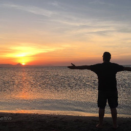 sunset sea me relax denia