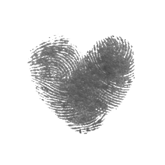 fingerprint heart freetoedit