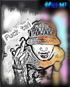 freetoedit thisisme thisismylife renosaputra blackandcolourful