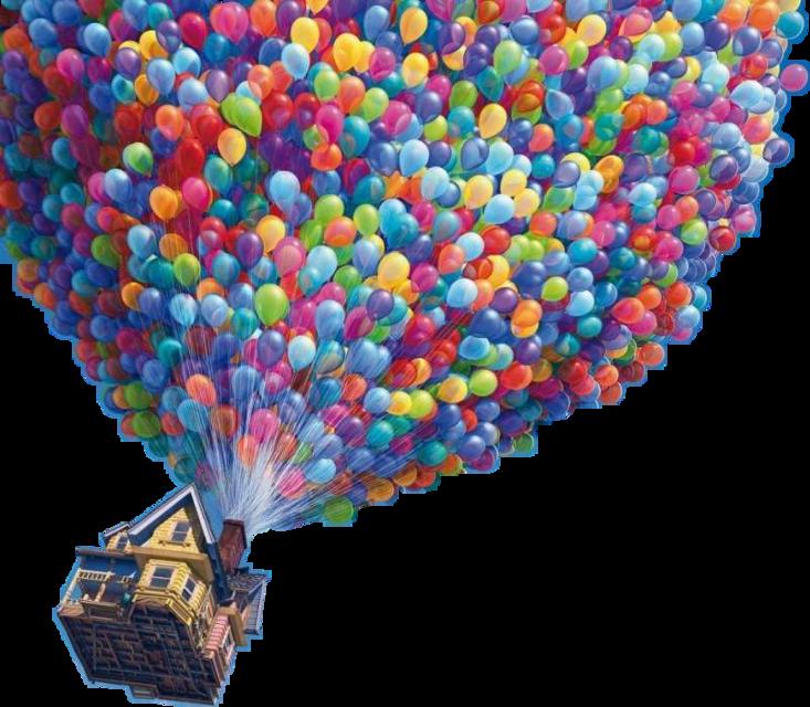 #up #home #globos #cute #emotions