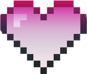 heart freetoedit pixelatedheartstickerremix