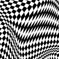 blackandwhite chessboard optical opticalillusion backgroundstickers freetoedit