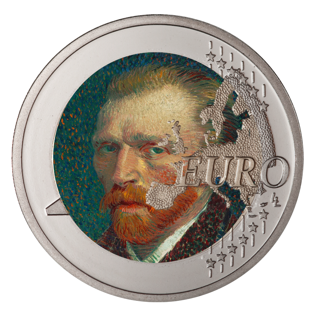 #ftestickers #coin #art #euro #vangogh #freetoedit