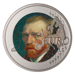 ftestickers coin art euro vangogh freetoedit