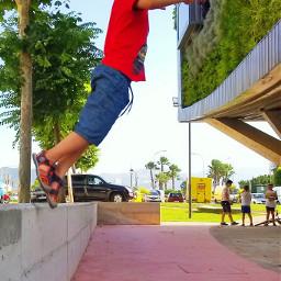 pcstreets streets salto jump volando dpcwalkinthepark dpcdenim dpcmychildhood dpcstrikeapose pcspringfashion pcchildhood