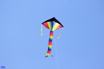 freetoedit dpcwindy colorful kite bluesky