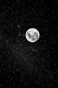 night tumblr hintergrundbild mond sterne freetoedit