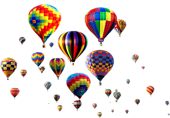 ftestickers hotairballoonsticker freetoedit