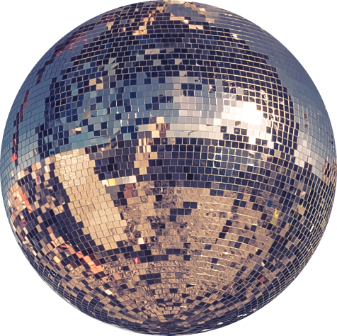 #disco #ball #dance #globo