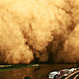sandstorm desertlife magnificent aweinspiring scary pcbadweather