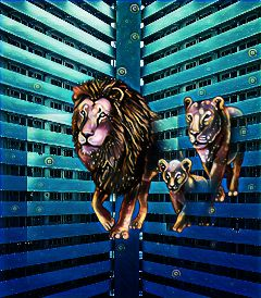 freetoedit remixes myremix lions midnighteffect