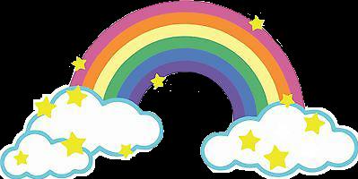 rainbow สายรุ้ง freetoedit