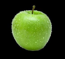 ftestickers green apple freetoedit