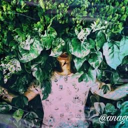 freetoedit leavesremix multipleexposure forest beach