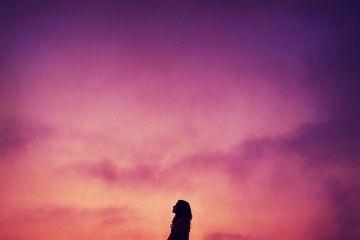 freetoedit girl people clouds pink
