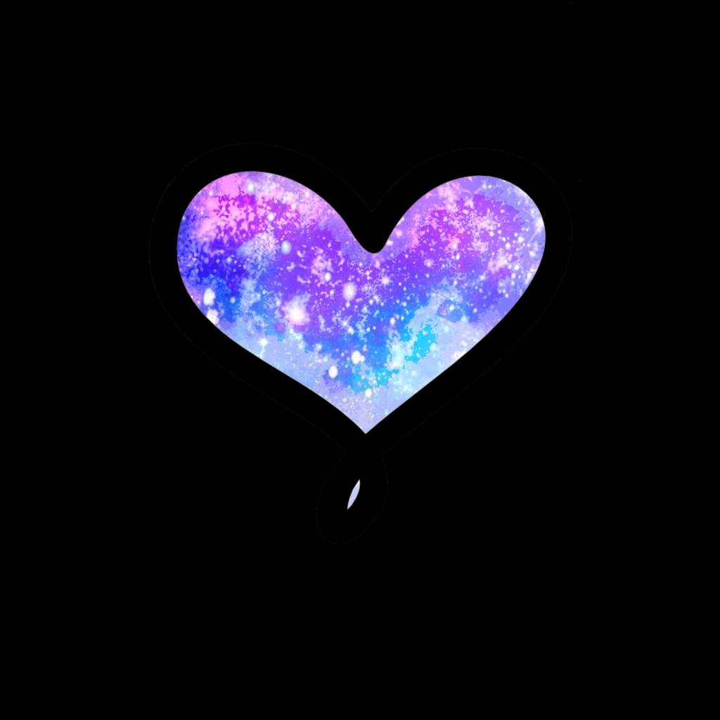 galaxy love heart galaxyheart galaxylove cute colorful...