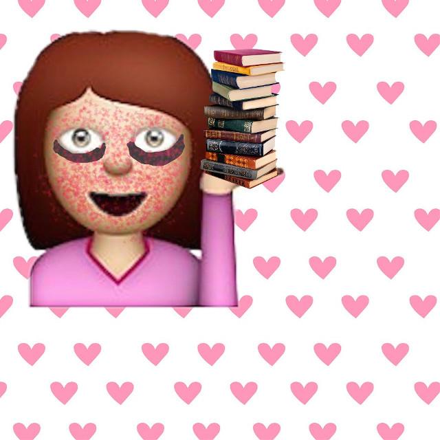 #recreatedit #darkcircle #books #emoji Dang! I feel so good after reading this stack of books😅