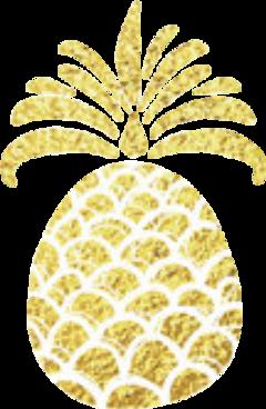 glitter pineapple piña freetoedit pi