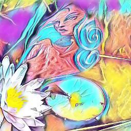 mermaid tattoo searose magiceffekt freetoedit