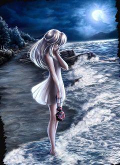 freetoedit sad girl sadgirl night