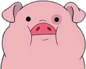 pig piggy funny pink freetoedit