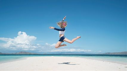 freetoedit jump girl young people