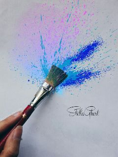 photography brush paint painting grey freetoedit