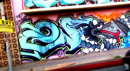 streetphotography graffiti street hollywood