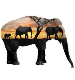 editing doubleexposure elephants surreal animals