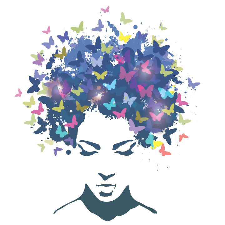 #girls #flower #abstract #minimalastic #inspire #stickers