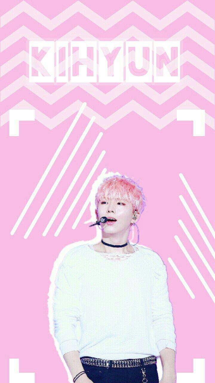 Kpop Wallpaper Pink Monstax Yookihyun Kihyun