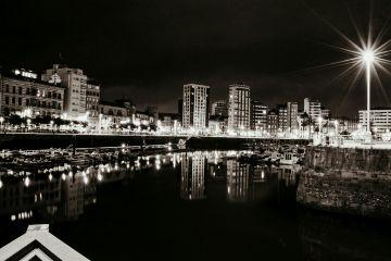 freetoedit blackandwhite citylights photography