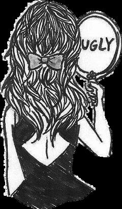 girl sad ugly freetoedit