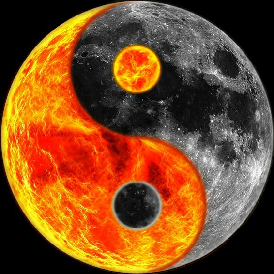#ying_yang  #sun #moon