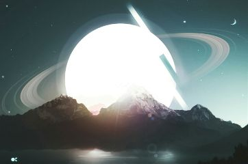 planet stars picsart editting surreal