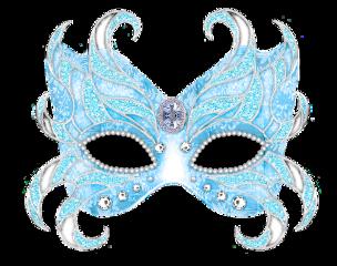 mask blue freetoedit