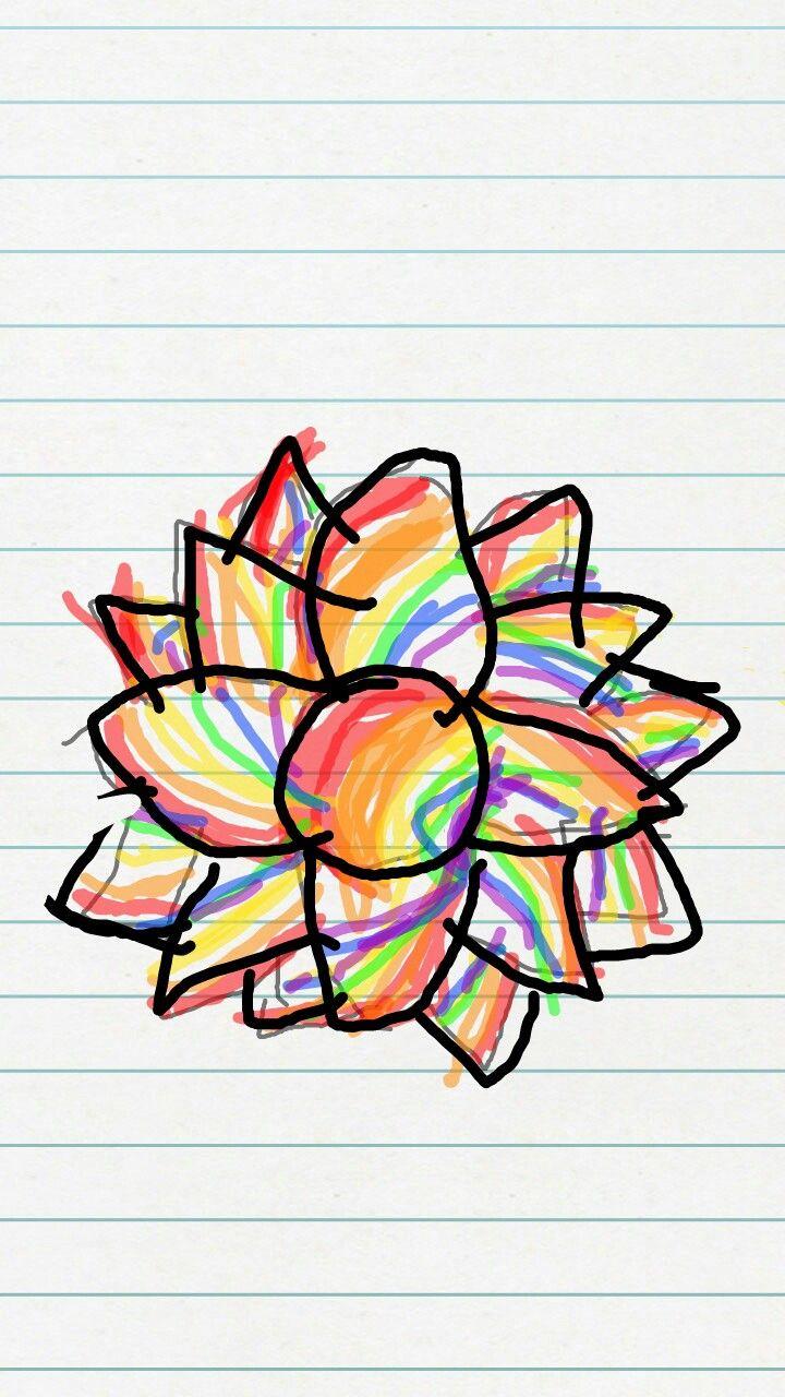 #mandala #flower #hashtag