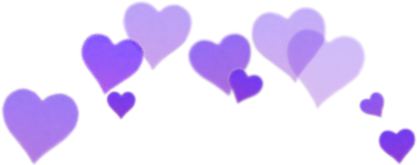 purple purpura morado lila hearts ftesticker ftestickers freetoedit