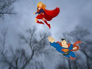 freetoedit remixit superman supergirl