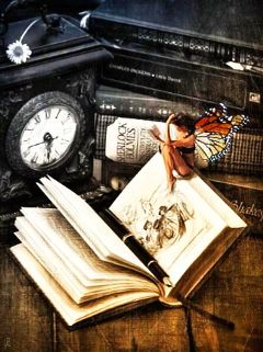 book beautiful girl fairy fantasy freetoedit